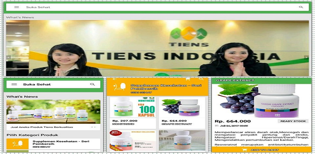 Peluang Bisnis Online Tanpa Modal Besar Bersama Tiens New ...